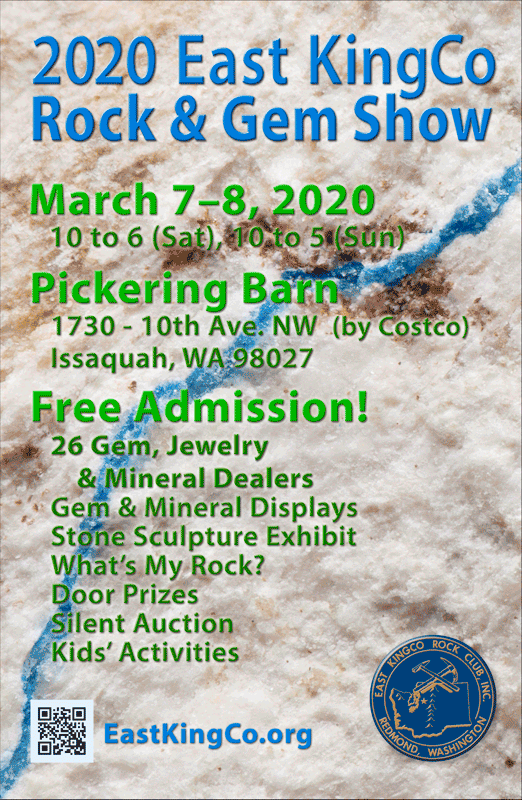 2020 East KingCo Rock & Gem Show
